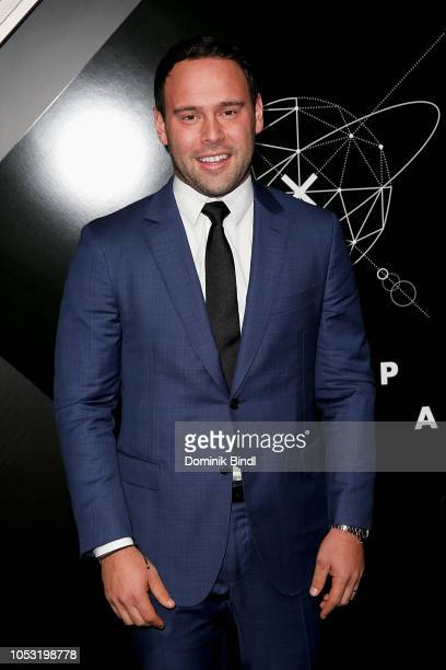 Scooter Braun attends the Pencils of Promise 10th Anniversary Gala at Duggal Greenhouse on October 24 2018 in Brooklyn New York