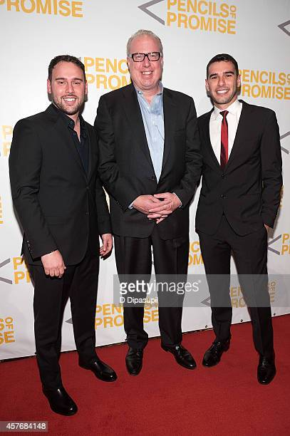 Scooter Braun Def Jam Recordings CEO Steve Bartels and Pencils of Promise founder and CEO Adam Braun attend the 4th Annual Pencils of Promise Gala at...