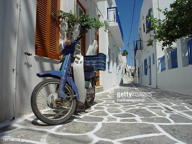 Scooter in griechischen Street