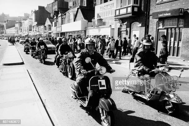 A scooter invasion of Scarborough on Easter Sunday as Mods Rockers Skinheads and Teds ran riot in Britains holiday towns over the Easter period More...