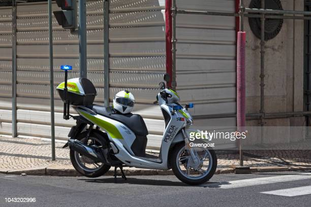Scooter of the Polícia Municipal of Lisbon