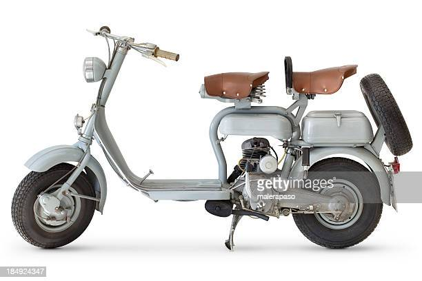 scooter - vintage motorcycle stock pictures, royalty-free photos & images