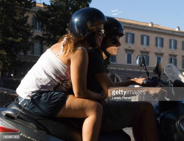 Scooter riders, Centro Storico.