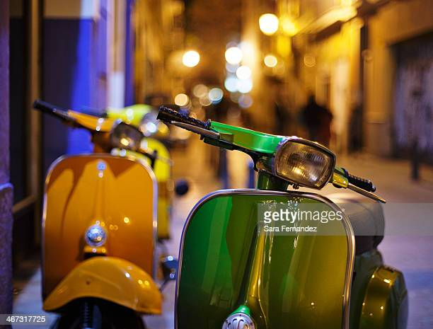 Scooters in Spain