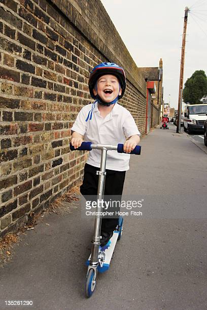 Scooting to school