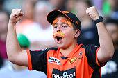 melbourne australia scorchers fans show their