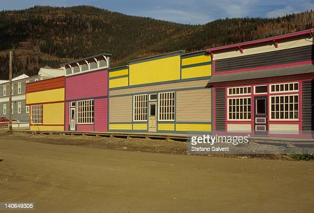 Scorcio di Dawson City