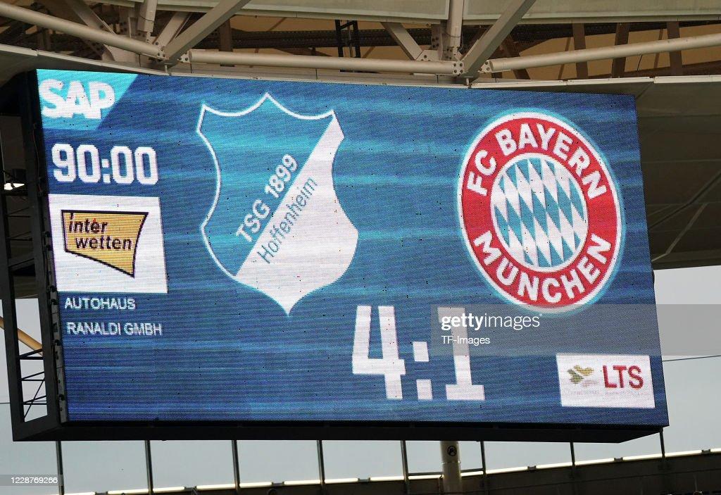 TSG Hoffenheim v FC Bayern Muenchen - Bundesliga : News Photo