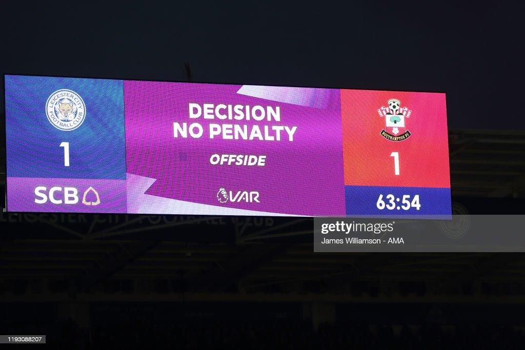 Leicester City v Southampton FC - Premier League : News Photo