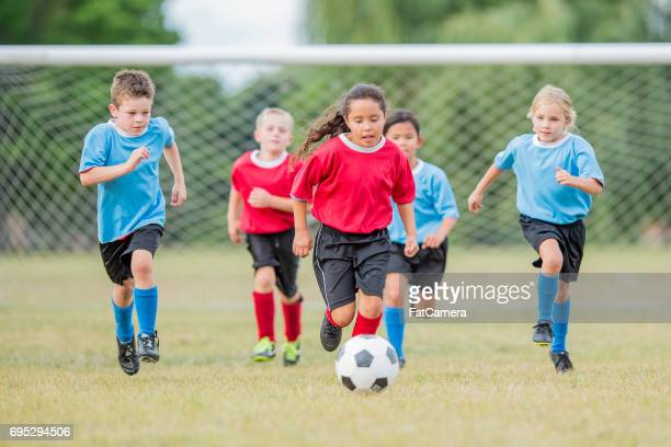 scoring a goal - sports league stock pictures, royalty-free photos & images