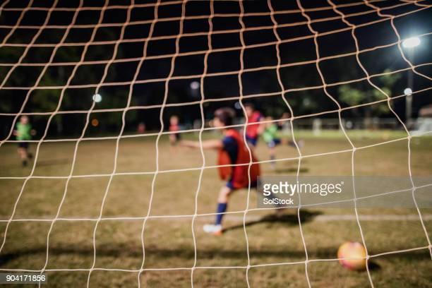 Scoring a Goal