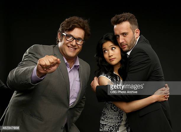 CBS' 'Scorpion' actors Ari Stidham Jadyn Wong and Eddie Kaye Thomas pose for a portrait during CBS' 2014 Summer TCA tour at The Beverly Hilton Hotel...