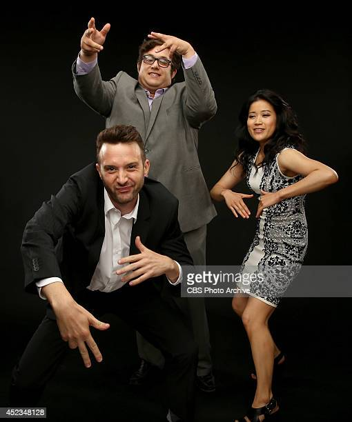 CBS' 'Scorpion' actors Eddie Kaye Thomas Ari Stidham and Jadyn Wong pose for a portrait during CBS' 2014 Summer TCA tour at The Beverly Hilton Hotel...