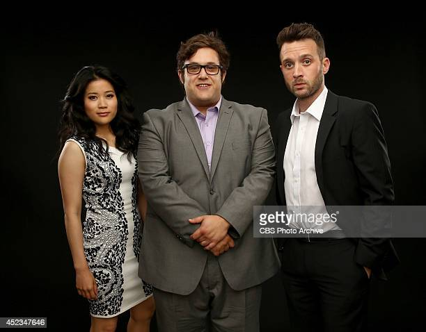 CBS' 'Scorpion' actors Jadyn Wong Ari Stidham and Eddie Kaye Thomas pose for a portrait during CBS' 2014 Summer TCA tour at The Beverly Hilton Hotel...