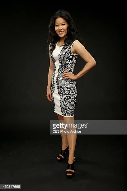 CBS' 'Scorpion' actress Jadyn Wong poses for a portrait during CBS' 2014 Summer TCA tour at The Beverly Hilton Hotel on July 17 2014 in Beverly Hills...