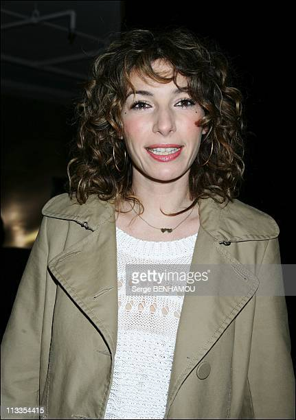 'Scorpion' Premiere In Paris France On February 16 2007 Anne de Petrini