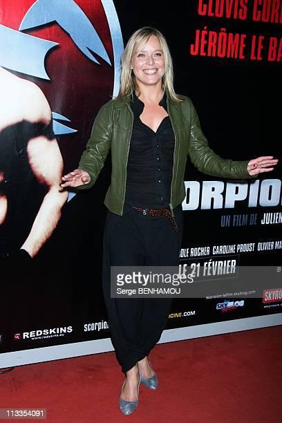 'Scorpion' Premiere In Paris, France On February 16, 2007 - Marie Guillard.