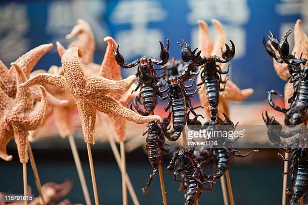 Scorpions und Seestern
