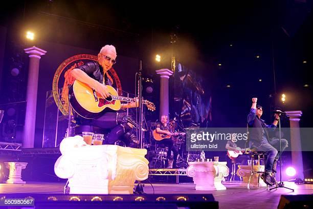 Scorpions 'MTV Unplugged'Tour Die Scorpions bestehen aus Klaus Meine Rudolf Schenker Matthias Jabs Pawel Maciwoda und Johan Franzon Schwedischer...