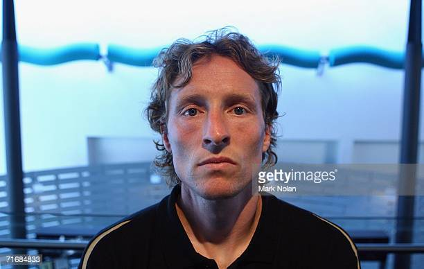 Scot Gemmill of the New Zealand Knights FC poses during the ALeague Season 20062007 launch at Sydney Theatre on August 21 2006 in Sydney Australia