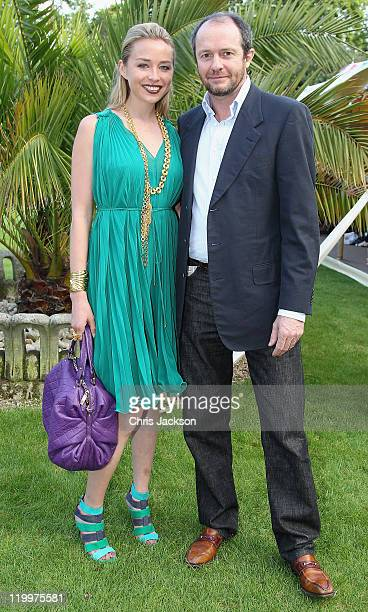 Scot Young and Noelle Reno attends The Earth Awards exhibits on show at the Start Festival on July 27 2011 in London England