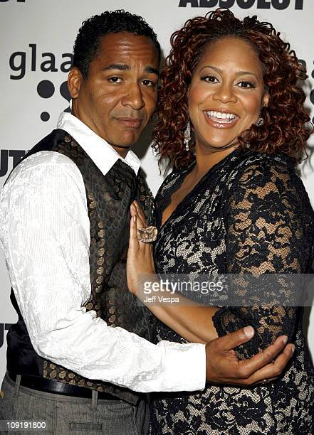Scotch Ellis Loring and Kim Coles during 18th Annual GLAAD Media Awards Los Angeles Cocktail Reception at Kodak Theater in Los Angeles California...