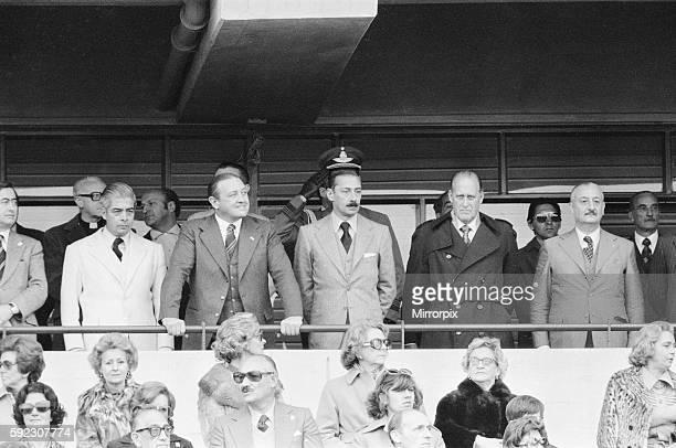 Scotland 1 v Peru 3. President of Argentina General Jorge Videla attending the game. 3rd June 1978.