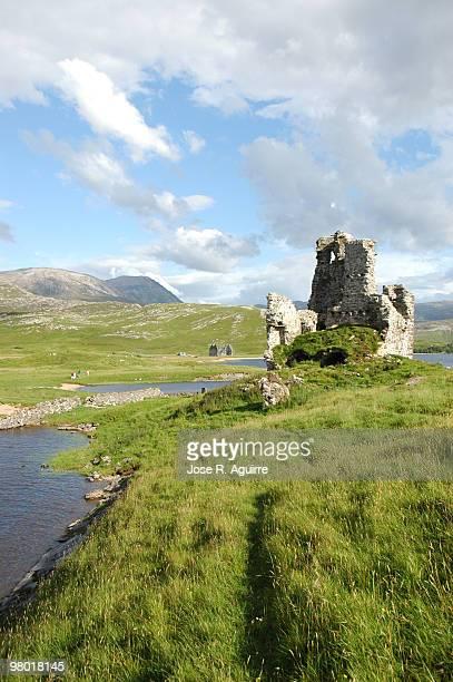 Scotland (United Kingdom). Ardvreck castle (Higlands)
