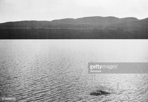 Authentic Picture Of Loch Ness Monster The dark blotch ruffling the surface of Loch Ness in Scotland is reputedly a disturbance caused by the Loch...