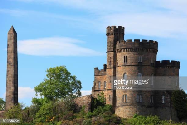 uk, scotland, edinburgh, calton hill - カールトンヒル ストックフォトと画像