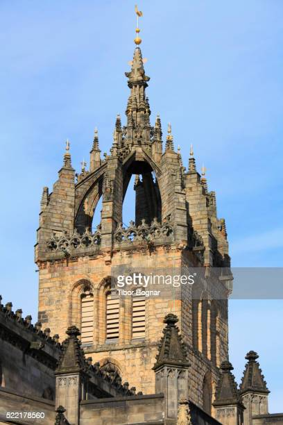 scotland, edinburgh, st giles' cathedral - st. giles cathedral stock pictures, royalty-free photos & images