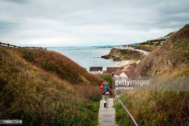scotland fife coastal path - fife scotland stock pictures, royalty-free photos & images