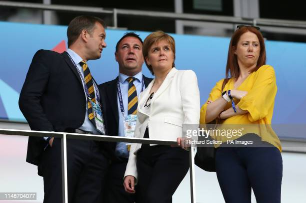 Scotland First Minister Nicola Sturgeon during the FIFA Women's World Cup Group D match at the Stade de Nice