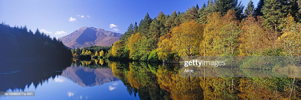 Scotland, Glencoe Lochan, autumn : Foto stock