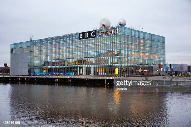 bbc scotland headquarters - theasis stock pictures, royalty-free photos & images