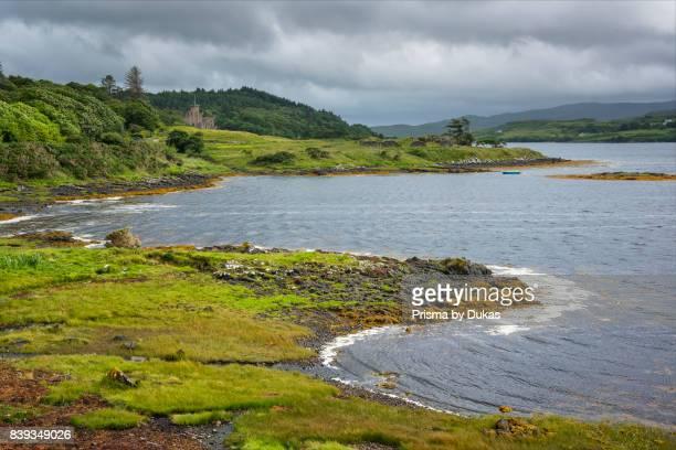 Scotland, Hebrides archipelago, Isle of Skye, Dunvegan Castle.