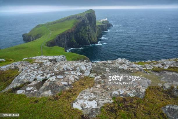 Scotland, Hebrides archipelago, Isle of Skye, Neist Point Lighthouse.