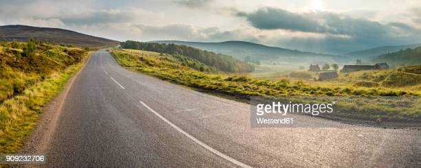 uk, scotland, highland, a939, highland tourist route - country road stock photos and pictures