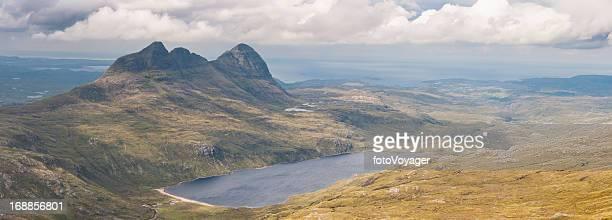 Scotland Highlands picturesque mountain wilderness panorama