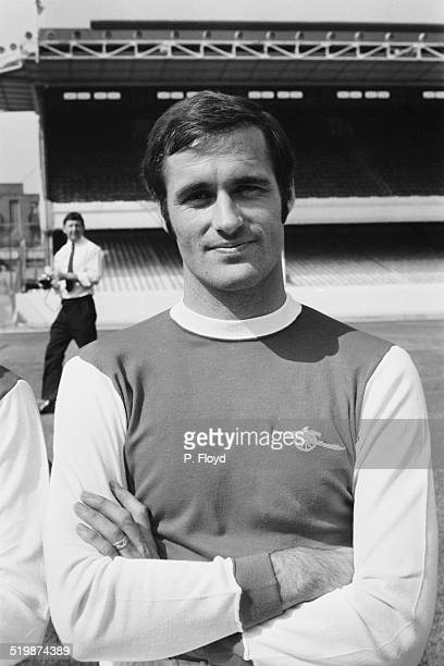 Scotland international and Arsenal FC football player George Graham 26th August 1969
