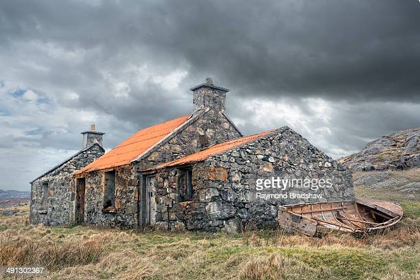 CONTENT] Scotland Isle of Harris Outer Hebrides South Harris Derelict croft