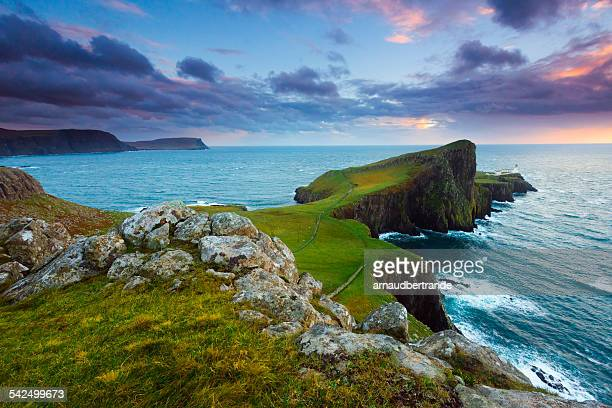 Scotland, Isle of Skye, Neist Point, Scenic view of coastline