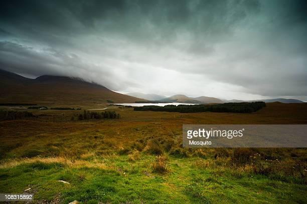 L'Écosse. Paysage. Glencoe