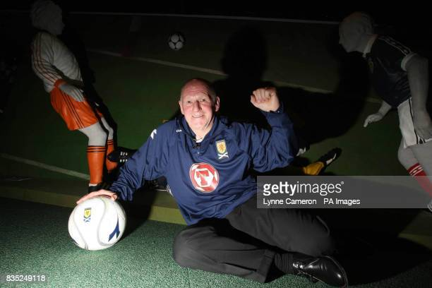 Scotland legend Archie Gemmill who scored against Holland in the 1978 World Cup Finals in Argentina at Hampden Park Glasgow
