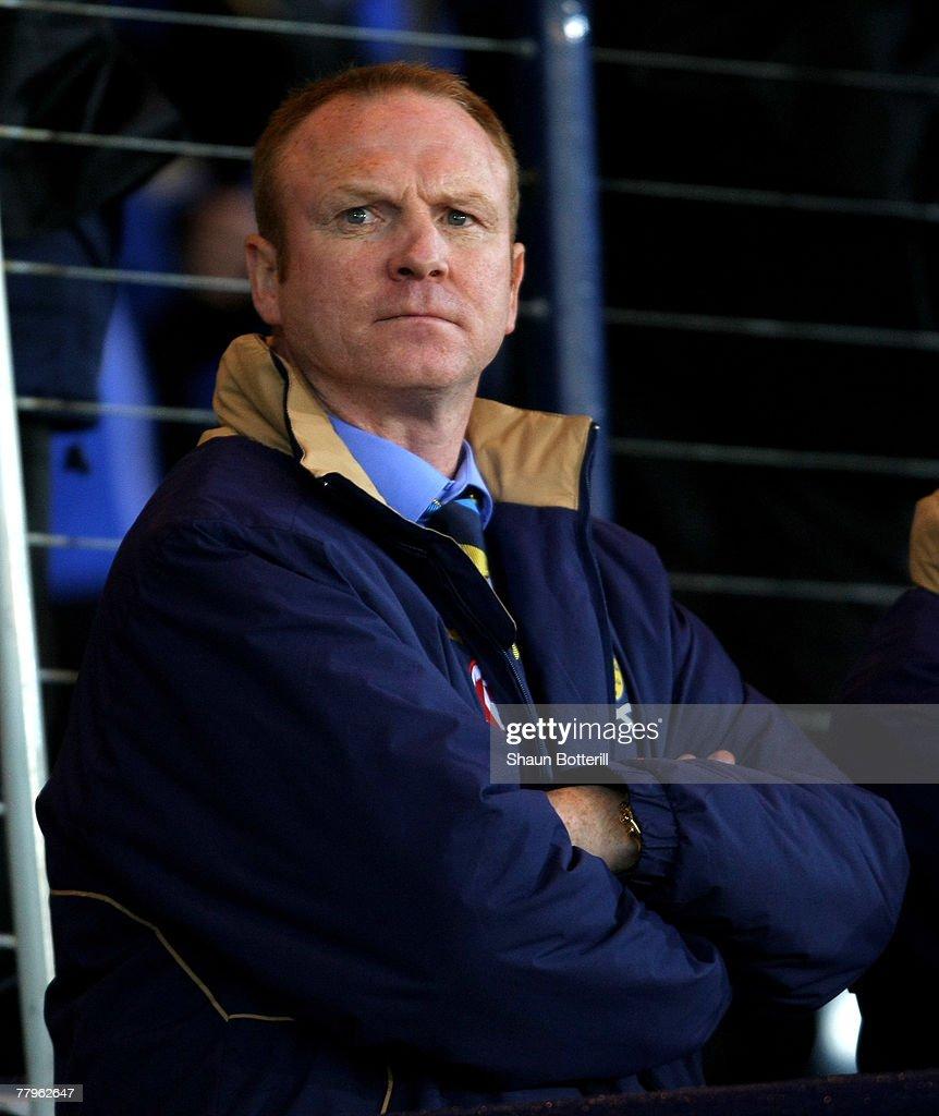 Euro2008 Qualifier - Scotland v Italy : News Photo