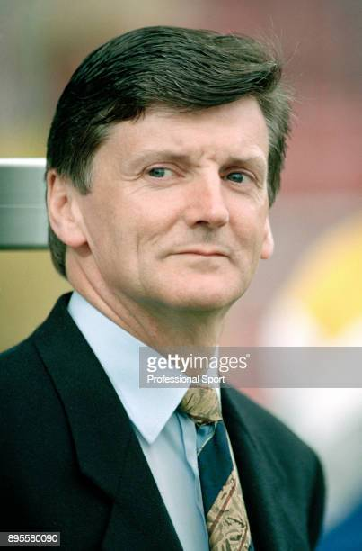 Scotland manager Andy Roxburgh looks on during a match at UEFA Euro 92 in Sweden.