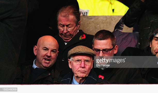 Scotland manager Craig Levein looks on before the Barclays Premier League Match between Sunderland and Aston Villa at Stadium of Light on November 3...