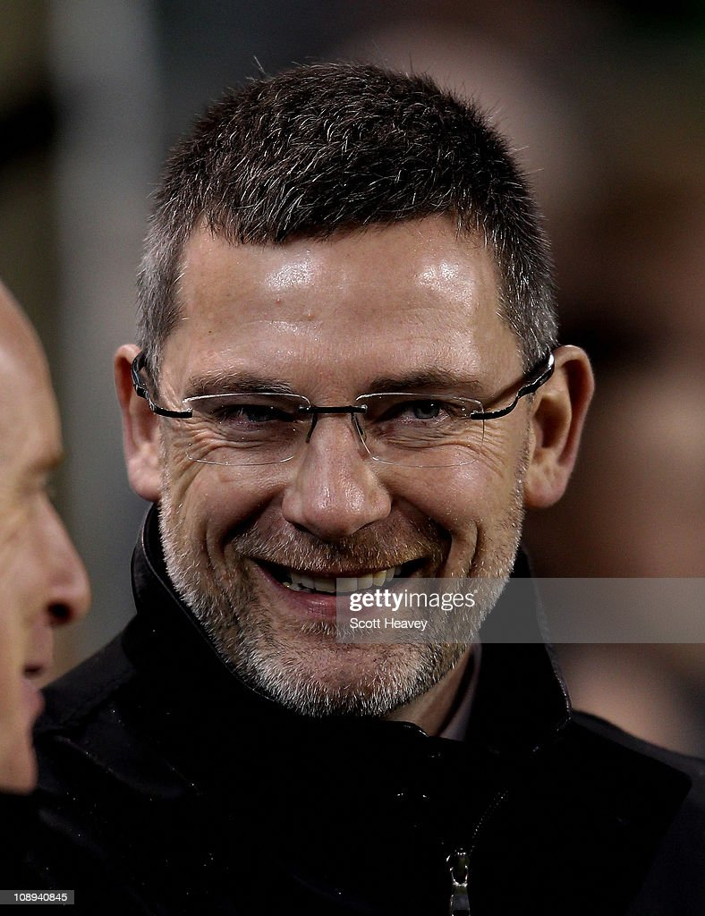 Scotland manager Craig Levin before the Carling Nations Cup match between Northern Ireland and Scotland at the Aviva Stadium on February 9, 2011 in Dublin, Ireland.