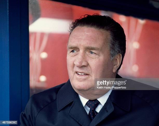 Scotland manager Jock Stein circa 1981