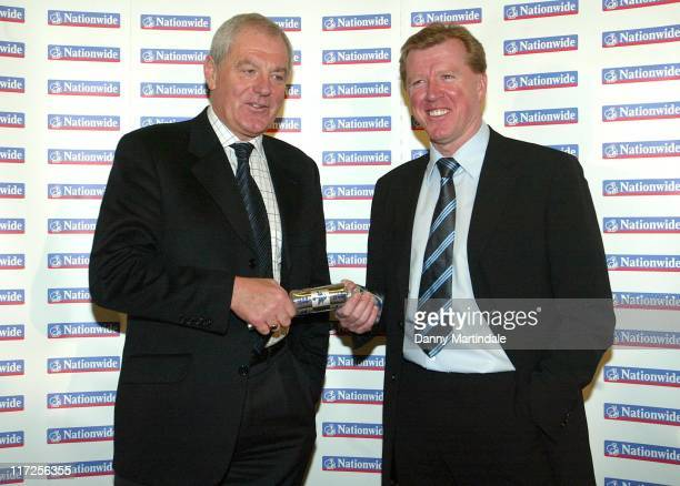 Scotland manager Walter Smith and England manager Steve McClaren